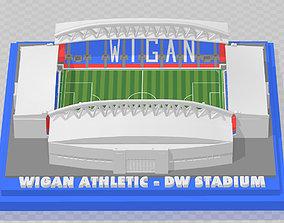 Wigan Athletic - DW Stadium 3D printable model