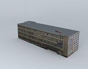 3D Municipality of Novi Pazar building