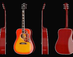 Gibson Hummingbird 3D asset
