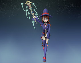 figurines atsuko kagari 3d figure