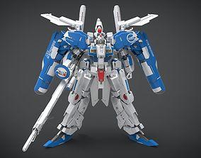 EX-S Gundam 3D asset