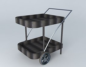 3D Trolley black ANTIBES houses the world