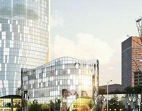 office-building 3D model Architecture 019