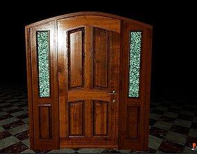 Interactive Door Version BPV04 UE4 3D asset