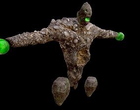 3D model game-ready Rock Beast
