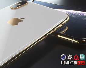 iPhone XS Max 3D asset
