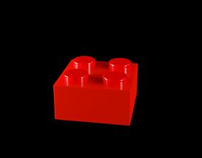 3D model Lego 2x2