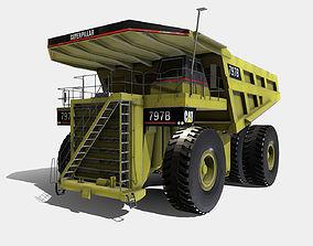 3D asset Low Poly PBR Cat 797B