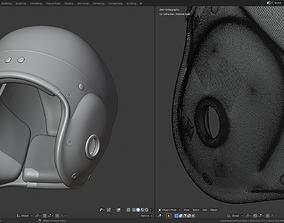 3D print model Vintage Football Helmet