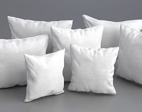 3D model Solid Pillow Set
