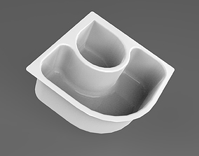 3D model Plastic Food Container