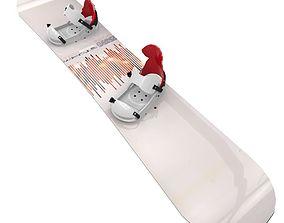 3D asset Snowboard