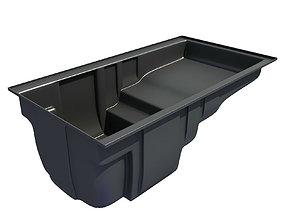 Black Oil Sump Pan 3D model 62