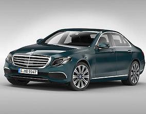 Mercedes Benz E Class 2017 3D model