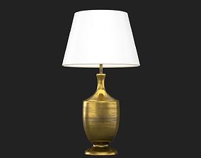 Brass Lamp Shade 3D asset