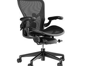 3D model Aeron Chair Remastered by Herman Miller