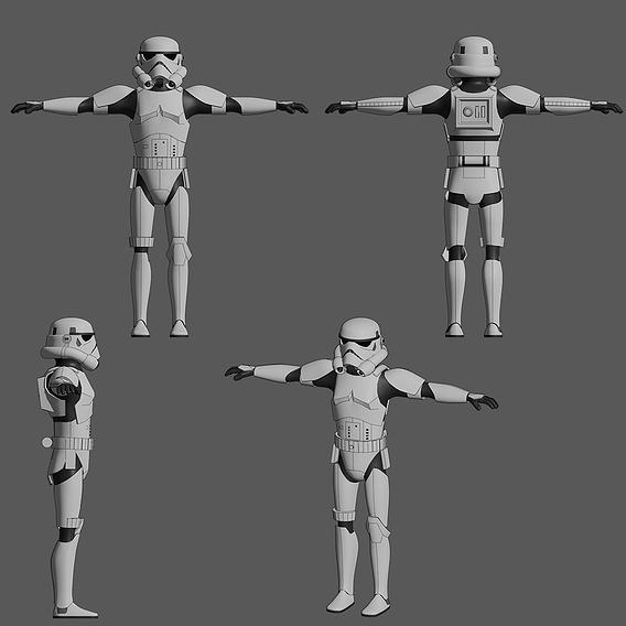 Stormtrooper - Star Wars - Fan Art