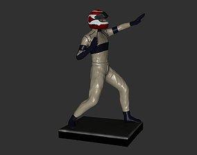 3D print model Nelson Piquet Fighting
