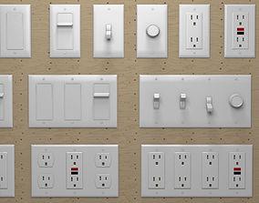 3D Modular Pack Electrical Outlets US breaker