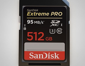 sd 3D SD Card