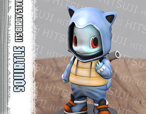 Squirtle ItsBirdy Style 3D print model