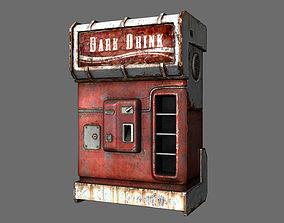 game cold drink dispenser machine 3D
