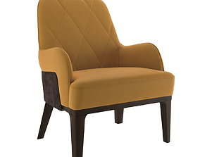 3D Tirolo Gill Lounge Chair 070P