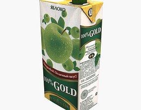 Juice 100 Percent Gold 3D