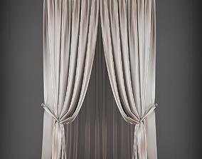 VR / AR ready Curtain 3D furniture