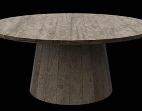 3D model Circular Table 03