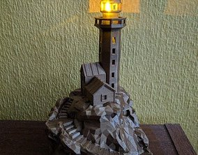 3D printable model Low poly lighthouse