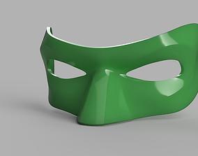 Green lantern Mask 3D print model