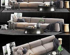furniture 3D Poliform Paris Seoul Sofa 1