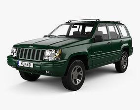 Jeep Grand Cherokee 1996 3D