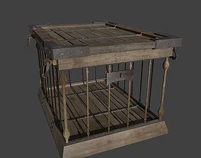 Wooden Crates wooden 3D rigged