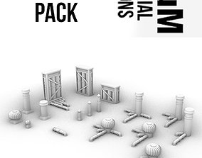 3D printable model Enhanced Chimney Pack