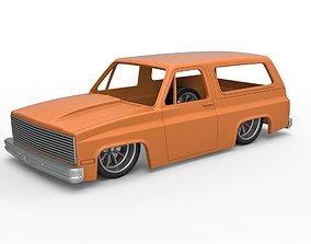 Diecast shell 1988 Chevrolet Blazer K5 3D print model 4