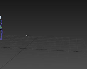 parkour front flip 3D model
