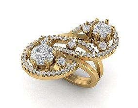 3D print model Unique Brilliant Ring