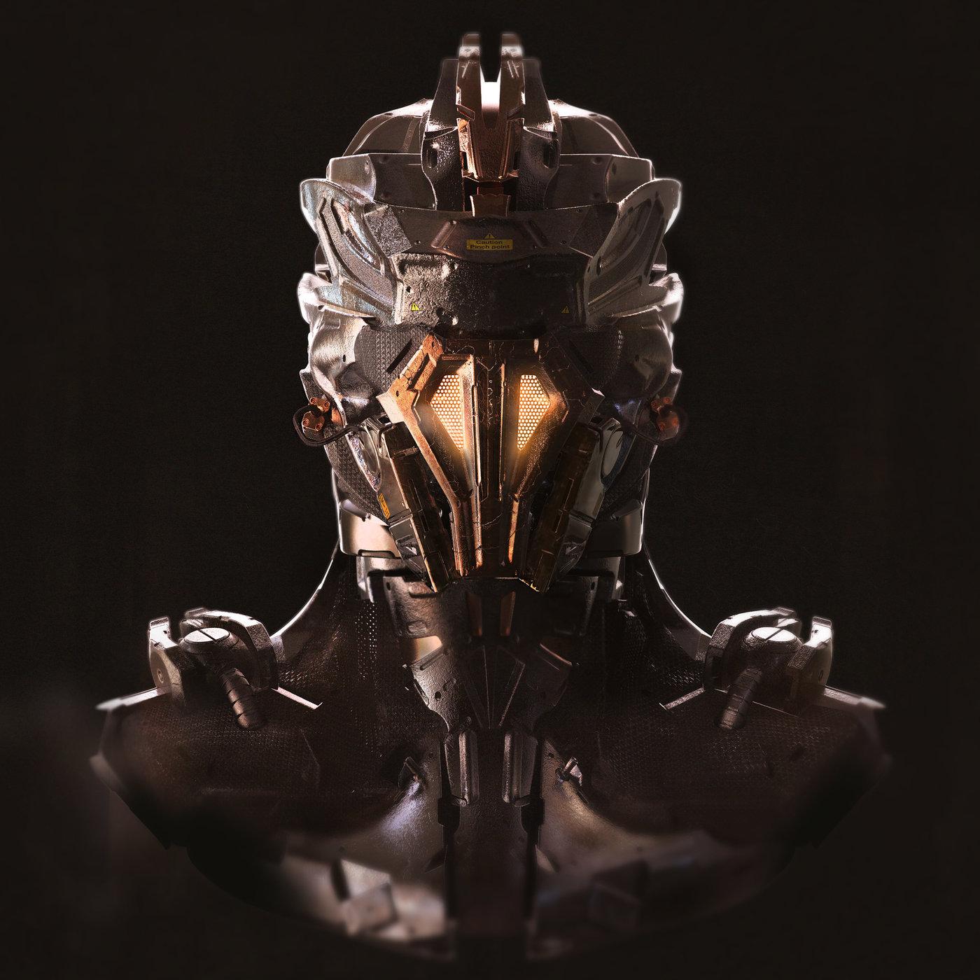 robothead concept design