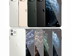 iPhone 11s Pro Max Collection 3D model