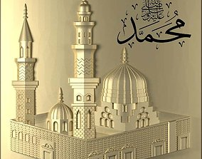 3d stl of Masjid an-Nabawi