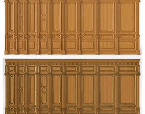 3D Wooden panels 03 03