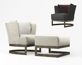 Linteloo Cervino armchair 3D model