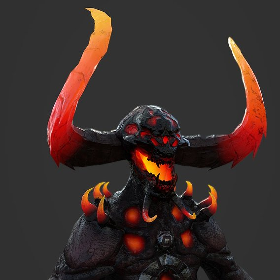 Little Demon Lava Texture