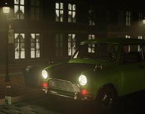 MrBean Leyland mini iconic car 3D