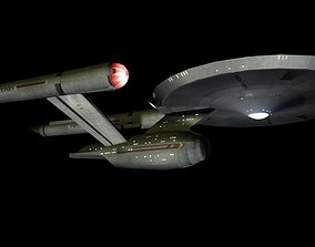 USS Enterprise from Discovery 3D model