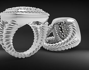 3D printable model Kanat ring