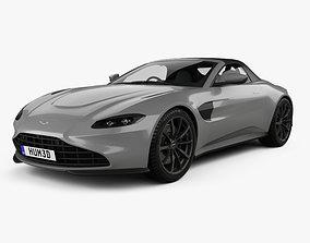 3D Aston Martin Vantage Roadster 2020