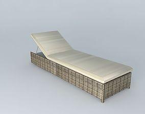 3D model Sunbathing ST RAPHAEL